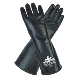 "Memphis Glove - CP14L - Large Mcr Guard 14"" Glove 14 Mil"