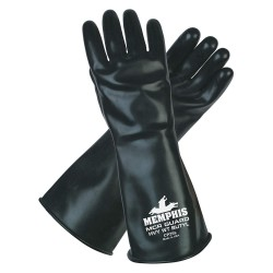 Memphis Glove - CP25XL - X-large Mcr Guard Butyl25 Mil Glove Smooth