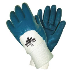 Memphis Glove - 9750S - Ladies Predator Palm Coated Nitrile Glove-knit