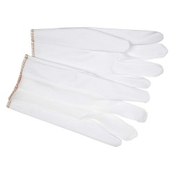 Memphis Glove - 9875M - White Vinyl Ladies Laminated Glove Medium W/ny