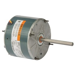 Fasco - 5KCP39EFAD90S - 1/8 HP Condenser Fan Motor, Permanent Split Capacitor, 825 Nameplate RPM, 208-230 VoltageFrame 48