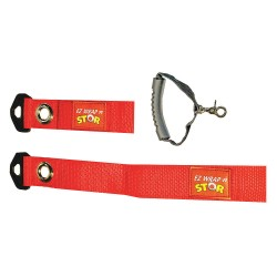 Fastenation - EZWRAPNSTORSYS - Strap with Handle, Red, 1-1/2
