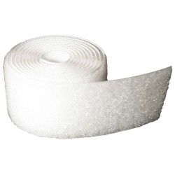 Velcro Industries - 199707 - Loop-Type Sew-On Tape with No Adhesive, White, 1 x 150 ft., 1EA