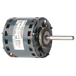 Genteq - 5KCP29GK4566S - 1/4 HP OEM Replacement Motor, Permanent Split Capacitor, 1100 Nameplate RPM, 230 VoltageFrame 42