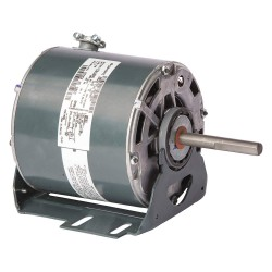 Genteq - 5KCP39PGC910S - 1 HP Condenser Fan Motor, Permanent Split Capacitor, 1075 Nameplate RPM, 208-230 VoltageFrame 48