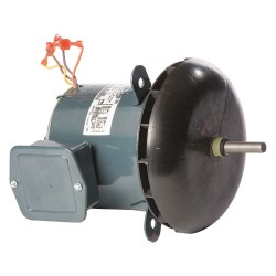 Genteq - 5KCP39SGU073S - 1/2 HP Condenser Fan Motor, Permanent Split Capacitor, 1075 Nameplate RPM, 200-230/460 Voltage
