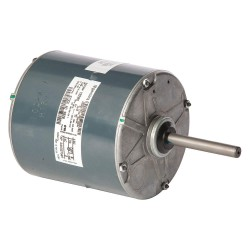 Genteq - 5KCP39RFY828S - 2/5 HP Condenser Fan Motor, Permanent Split Capacitor, 1075 Nameplate RPM, 380-415/460 Voltage