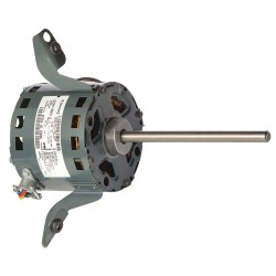 Genteq - 5KCP29HKB023S - 1/5 HP Condenser Fan Motor, Permanent Split Capacitor, 840 Nameplate RPM, 208-230 VoltageFrame 29