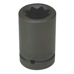 "Wright Tool - 8934R - 1-1/16"" 8-point Double Square Deep Imp. Socket"