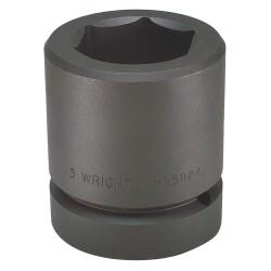 "Wright Tool - 85833 - 4-1/8"" 2-1/2"" Drive 6 Ptstandard Impact Socket"