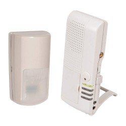 Safety Technology - STI-V34760 - 4-Channel Receiver with Wireless Outdoor Motion Detector