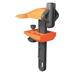 Skipper - CLAMP01 - Plastic Clamp Holder/Receiver, Orange/Black