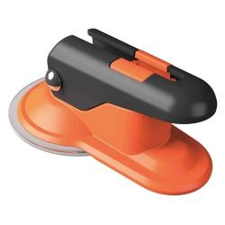 Skipper - PAD01 - Plastic Suction Pad Holder/Receiver, Orange/Black