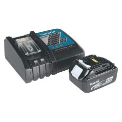 Makita - BL1840BDC1 - Makita BL1840BDC1 18-Volt 4.0Ah Compact Lithium-Ion Battery and Charger Kit