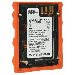 Industrial Scientific - 17134453-11 - 3.7VDC Li-Ion Replacement Battery Pack, Orange, 1 EA