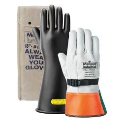 Marigold - CL0B-11'KIT - Black Glove Kit, Leather, 0 Class, Size 10