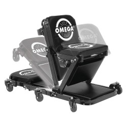 Omega Lift Equipment - 91452 - 40 x 26 Low Profile Creeper with 6 Wheels and 450 lb. Load Capacity