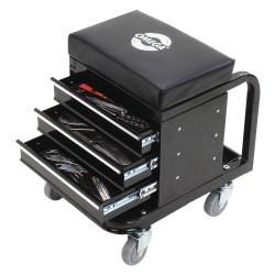 Omega Lift Equipment - 92450 - 14-1/2 Tool Box Creeper Seat