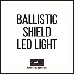 GH Armor Systems / Pacific Safety Products (PSP) - GH-SHB1-LED1 - LED Lights, For Use With Ballistic Shields
