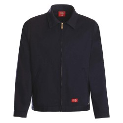 Dickies - 325AE95NBLG - Flame-Resistant Twill Jacket, Navy, L