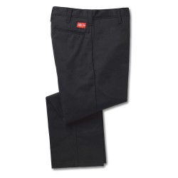 Dickies - 483AE95BK40 32 - Black Flame Resistant Pant, 88% Cotton / 12% Nylon, Fits Waist Size: 40, 32 Inseam, 12.2 cal./cm2