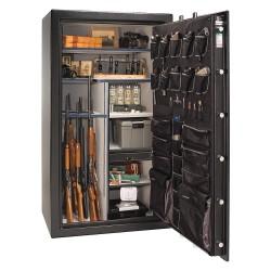 Liberty Safe - AS50-BKT - 28 cu. ft. Gun Safe, 1125 lb. Net Weight, 1/2 hr. Fire Rating, Combination/Key Lock Style