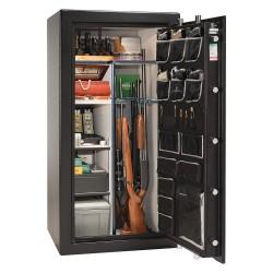 Liberty Safe - AS25-BKT - 13.1 cu. ft. Gun Safe, 735 lb. Net Weight, 1/2 hr. Fire Rating, Combination/Key Lock Style