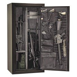 Liberty Safe - TC24-BKT - 13.8 cu. ft. Gun Safe, 380 lb. Net Weight, 1/2 hr. Fire Rating, Combination/Key Lock Style