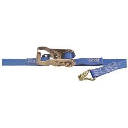 Kinedyne - 711081GRA - Tie-Down Strap, Blue, 2500 lb., 10 ft.