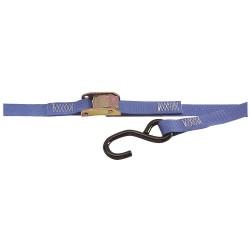 Kinedyne - 751587PKGRA - Tie-Down Strap, Blue , 1200 lb., 15 ft.