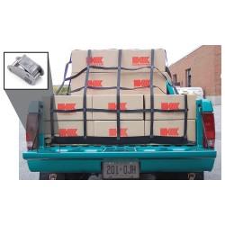 Kinedyne - CN390GRA - Pick Up Truck Net, Black, 8 ft L, 12 ft W