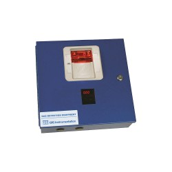 GFG Instrumentation - 4400 - Controller, 4 Channel, LED, 12 in H, Blue