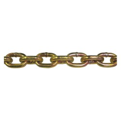Peerless - 5440255 - 150 ft. Grade 70 Straight Chain, 1/4 Trade Size, 3150 lb. Working Load Limit, For Lifting: No