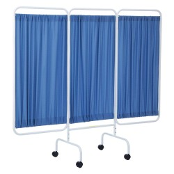 R&B Wire Products - PSS-3C/AM/BF - 3 Panel, 81 x 69 Privacy Screen, Blue