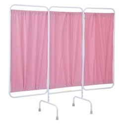 R&B Wire Products - PSS-3/AML/M - 3 Panel, 81 x 67 Privacy Screen, Mauve