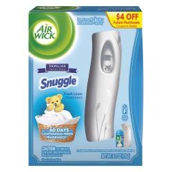 Air Wick - 93554 - Spray Air Freshener Dispenser, White, PK4