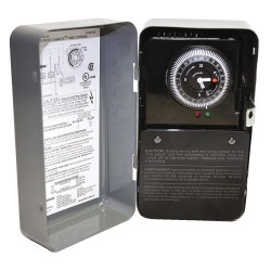 Invensys Controls - 8145-AV - Defrost Timer Control, 120/208/240/277 VAC Voltage, Defrost Time (Minutes): 15