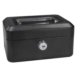 Barska - CB11828 - Barska CB11828 Extra Small 6-inch Cash Box with Key Lock