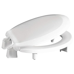 Centoco - GR3L440STS-001 - Toilet Seat, Round, With Cover, 16-7/8 Bolt to Seat Front