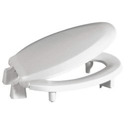 Centoco - GR3L800STS-001 - Toilet Seat, Elongated, With Cover, 19 Bolt to Seat Front