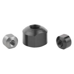 Kipp - K0664.08 - Spherical Nut, 1 EA
