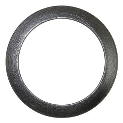 FlexItAllIC - 00394700058 - 304 Stainless Steel Spiral Wound Metal Gasket, 4-3/4 Outside Dia., Gray
