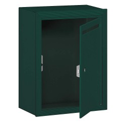 Salsbury Industries - 2240GP - Letter Box, Private, 1 Door, Green, 19in H