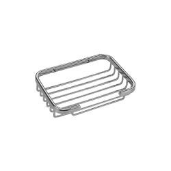Taymor - 05-SN1083M - 1D x 4-1/4W x 6-1/4H Satin Nickel Brass Shower Basket
