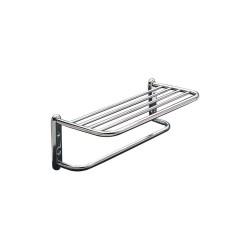 Taymor - 01-S880018BSN - 19-1/2L x 6-1/2H x 8-1/2D Satin Towel Shelf