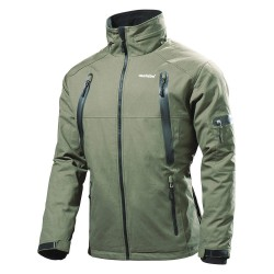 Metabo - HJA 14.4-18 (XXXL) - Men's Green Heated Jacket, Size: 3XL, Battery Included: No
