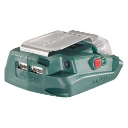 Metabo - PA 14.4-18 LED-USB - Battery Adapter, 18.0 Voltage