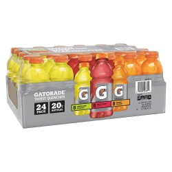 Gatorade - 10052000120781 - Ready to Drink, Regular, 24 Package Quantity