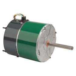 Genteq - 5SME39SLHE574 - 3/4 HP Condenser Fan Motor, ECM, 1100/850 Nameplate RPM, 460 Voltage, Frame 48