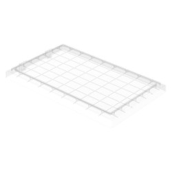 Akro-Mils / Myers Industries - 35181SCLAR - Clear Lid, 18-1/4 L x 11-1/4